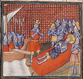 La muerte de Luis IX durante la Octava Cruzada supuso un duro varapalo para sus hombres.